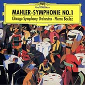 Mahler: Symphonie no 1 / Boulez, Chicago Symphony Orchestra