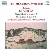 The 18th Century Symphony - Stamitz: Symphonies Vol 2 / Ward