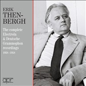 The Complete Electrola & Deutsche Grammophon recordings, 1938-1958 - music of Handel, J.S. Bach, Beethoven, Schumann, Chopin, Reger / Erik Then-Bergh, piano
