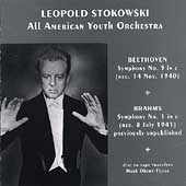 Beethoven, Brahms / Stokowsky, All-American Youth Orchestra