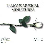 Famous Musical Miniatures Vol 2 / Levy, Simhah Collegium