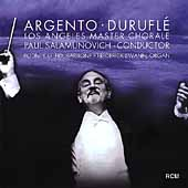 Argento, Durufl&eacute; / Salamunovich, Los Angeles Master Chorale