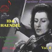 Legendary Treasures - Ida Haendel Vol 4 - Mozart, Franck