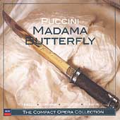 The Compact Opera Collection - Puccini: Madama Butterfly