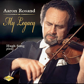 Aaron Rosand - My Legacy