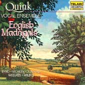 Quink Vocal Ensemble - English Madrigals
