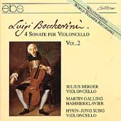 Boccherini: Sonate per Violoncello Vol 2 / Berger, Galling