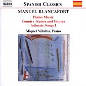 Spanish Classics - Blancafort: Piano Music Vol 2 / Villalba