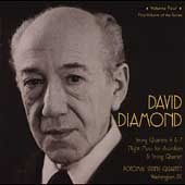Diamond: String Quartets, etc / Potomac Quartet, et al