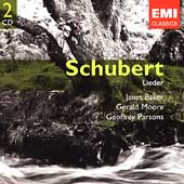 Gemini - Schubert: Lieder / Baker, Moore, Parsons