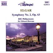 Elgar: Symphony no 2 / Edward Downes, BBC Philharmonic