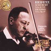 The Heifetz Collection Vol 38 - Schubert, Brahms: Trios