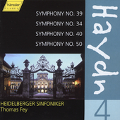 Haydn: Symphonies Vol 4 / Fey, Heidelberg Symphony
