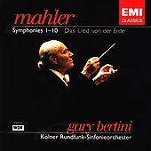 Mahler: Symphonies 1-10, etc / Bertini, K&#246;lner Rundfunk