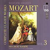 Mozart: Complete Clavier Works / Rampe