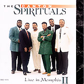 The Canton Spirituals: Live in Memphis, Vol 2
