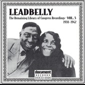 Leadbelly: The Leadbelly, Vol. 5: 1938-1942
