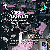 Bowen: Violin Concerto Op 33, etc / Handley, et al