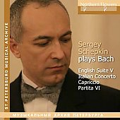Music of J.S. Bach Vol 1 / Sergey Schepkin