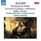 Haydn: Il ritorno di Tobia, etc / Spering, et al