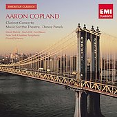 American Classics - Copland: Clarinet Concerto, Quiet City, etc / Shifrin, Schwartz, et al