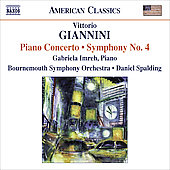 American Classics - Gianni: Piano Concerto, Symphony no 4 / Spalding, Imreh, Bournemouth SO