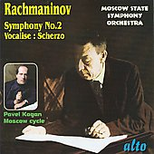 Rachmaninoff: Symphony no 2, etc / Pavel Kogan, Moscow State SO