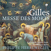 Jean Gilles: Messe des morts / Philippe Herreweghe, et al