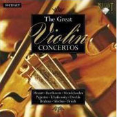 The Great Violin Concertos (Box Set)
