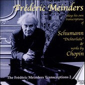 Frédéric Meinders Plays His Own Transcriptions of Schumann Dichterliebe & Works by Chopin