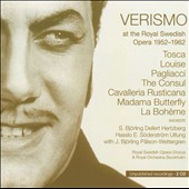 Verismo at the Roayl Swedish Opera 1950-1962, Vol. 8