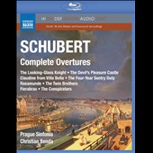 Schubert: Complete Overtures / Christian Benda [Blu-ray audio]