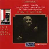 Dvor&#225;k: Violinkonzert, Symphonie no 9 / Karel Ancerl