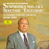 Stenhammar: Symphonies 1 & 2, etc / Järvi, Gothenburg SO