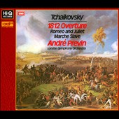 Tchaikovsky: 1812 Overture; Romeo and Juliet; Marche Slave