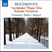 Beethoven: Trios, Vol. 5 - 'Archduke' Piano Trio; Kakadu Variations / Tichman, Bieler, Kliegel