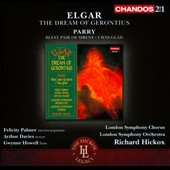 Elgar: The Dream of Gerontius; Parry: Blest Pair of Sirens, I Was Glad / Palmer, Davies, Howell, Elms