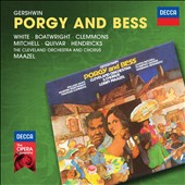 Gershwin: Porgy and Bess / Florence Quivar, Barbara Hendricks, Willard White, McHenry Boatwright, Francois Clemmons, Leona Mitchell