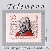 Telemann: Sonatas, etc / Oberlin Baroque Performance