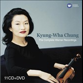 Violinist Kyung-Wha Chung: The Complete Warner Recordings [11 CDs +DVD]