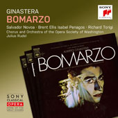 Alberto Ginastera (1916-1983): Bomarzo, Op. 34 / Salvador Novoa; Brent Ellis; Isable Penagos; Richard Torigi; Julius Rudel, Chorus & Orchestra of the Opera Society of Washington
