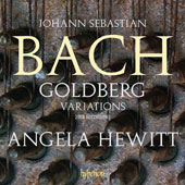 J.S. Bach: Goldberg Variations (rec. 2015) / Angela Hewitt, piano