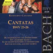 Edition Bachakademie Vol 8 - Cantatas BWV 23-26 / Rilling
