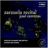 Zarzuela Recital / Jos&eacute; Carreras