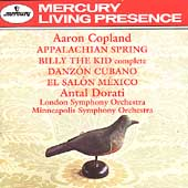 Copland: Appalachian Spring, Billy the Kid, etc / Dorati
