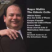The Ethnic Cello - Rosza, Cassadó, et al / Roger Malitz