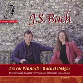 Bach: Sonatas for Violin and Obbligato Harpsichord / Podger