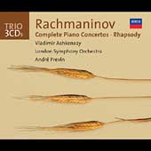 Trio - Rachmaninov: Piano Concertos, etc / Ashkenazy, et al