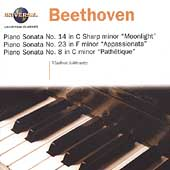 Beethoven: Piano Sonatas no 14, 23, 8 / Vladimir Ashkenazy