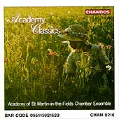 Academy Classics / ASMF Chamber Ensemble